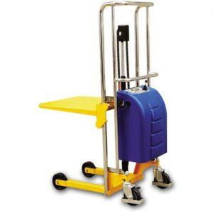 EPS-0415 Ανυψωτικό με ηλεκτρική ανύψωση με πιρούνια ή πλατφόρμα 400kg