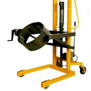 Ανύψωση και ανατροπή σιδερένιων βαρελιών έως 300kg