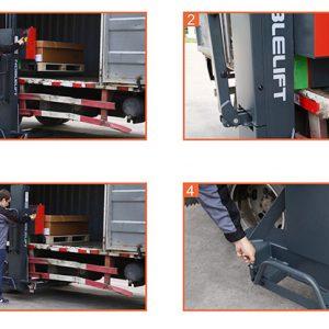 PS-05F Self Lift Stacker (Αυτοανυψούμενο στο φορτηγό)