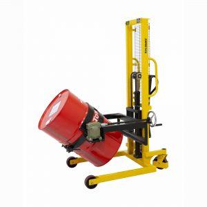 Ανύψωση και ανατροπή σιδερένιων βαρελιών έως 400kg