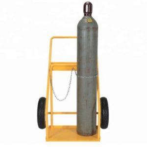 Χειράμαξα για (2) φιάλες χάλυβα (οξυγόνου-προπανίου)