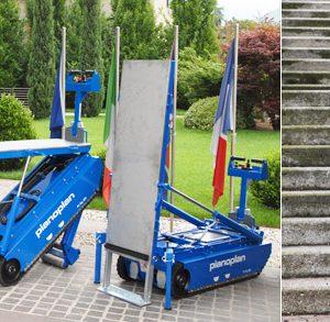 Χ Piano Plan - Hλεκτροκίνητο μηχάνημα μεταφοράς φορτίου έως 600 κιλά