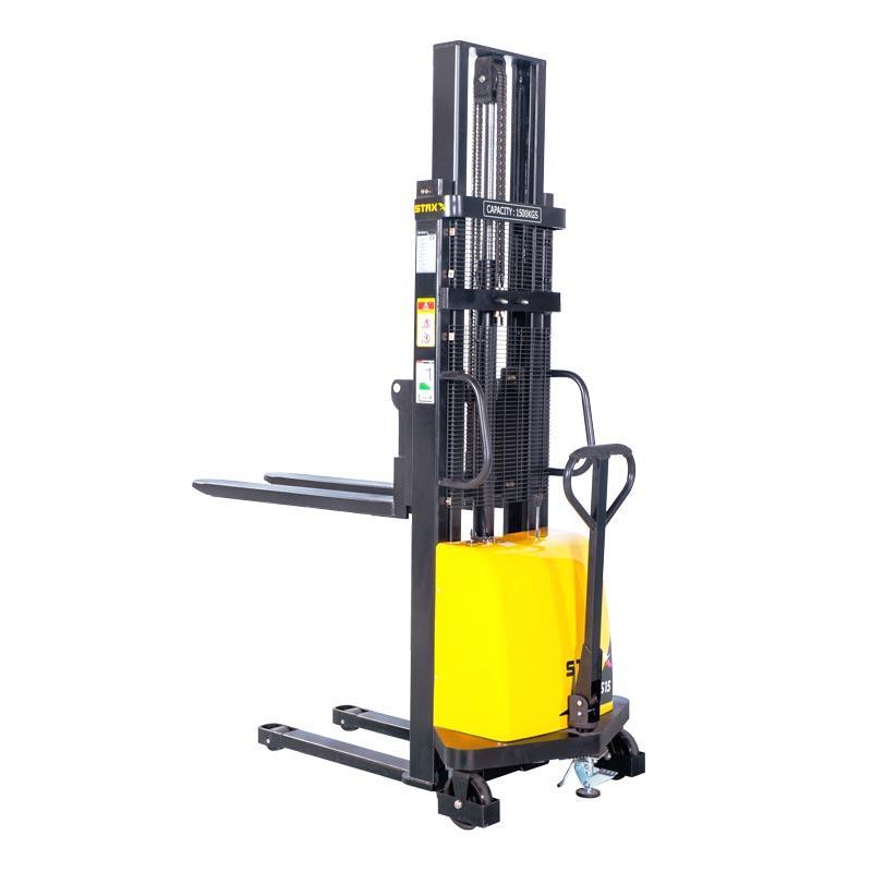 StaXx DYC – Ημι-ηλεκτρικό Stacker Ανύψωσης 1000kg έως 1500kg