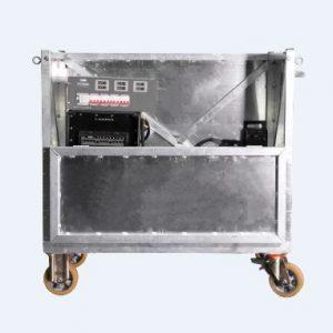 AFC 20 - Τετράτροχη πλατφόρμα αλουμινίου για μεταφορά πανιών (μαξιλάρες) ή βαρέων συσκευών