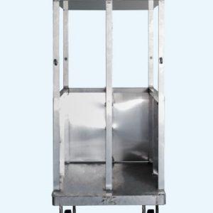 AFC 60 - Τετράτροχη πλατφόρμα αλουμινίου  για μεταφορά Πανελ