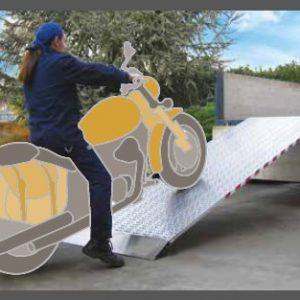 Ράμπα Αλουμινίου - M030 ικανότητα φόρτωσης έως 2900kg