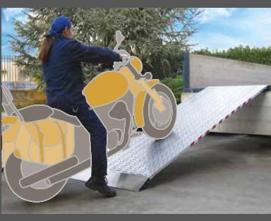 Ράμπα Αλουμινίου – M030 με ικανότητα φόρτωσης έως 2900kg