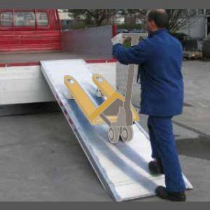 Ράμπα Αλουμινίου - MPC 1000 ικανότητα Φόρτωσης έως 1000kg