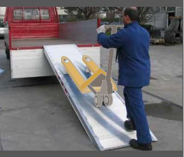Ράμπα Αλουμινίου – MPC 1000 Ικανότητα Φόρτωσης έως 1000kg