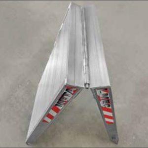 Σπαστή Ράμπα Αλουμινίου - MPCI ικανότητα φόρτωσης έως 1000kg