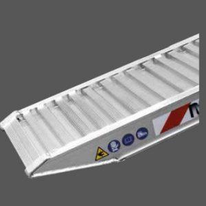 Ράμπα Αλουμινίου - M070-M125 ικανότητα φόρτωσης έως 4500kg