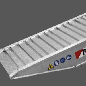 Ράμπα Αλουμινίου - M140 / 150 ικανότητα φόρτωσης έως 6000kg