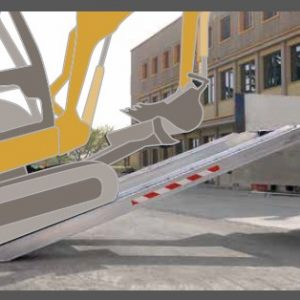 Ράμπα Αλουμινίου - Μ165-Μ230 ικανότητα φόρτωσης έως 14000kg