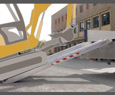 Ράμπα Αλουμινίου – Μ165-Μ230 ικανότητα φόρτωσης έως 14000kg
